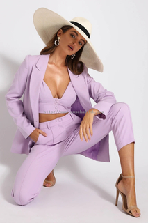 NEED WANT BLAZER - LILAC