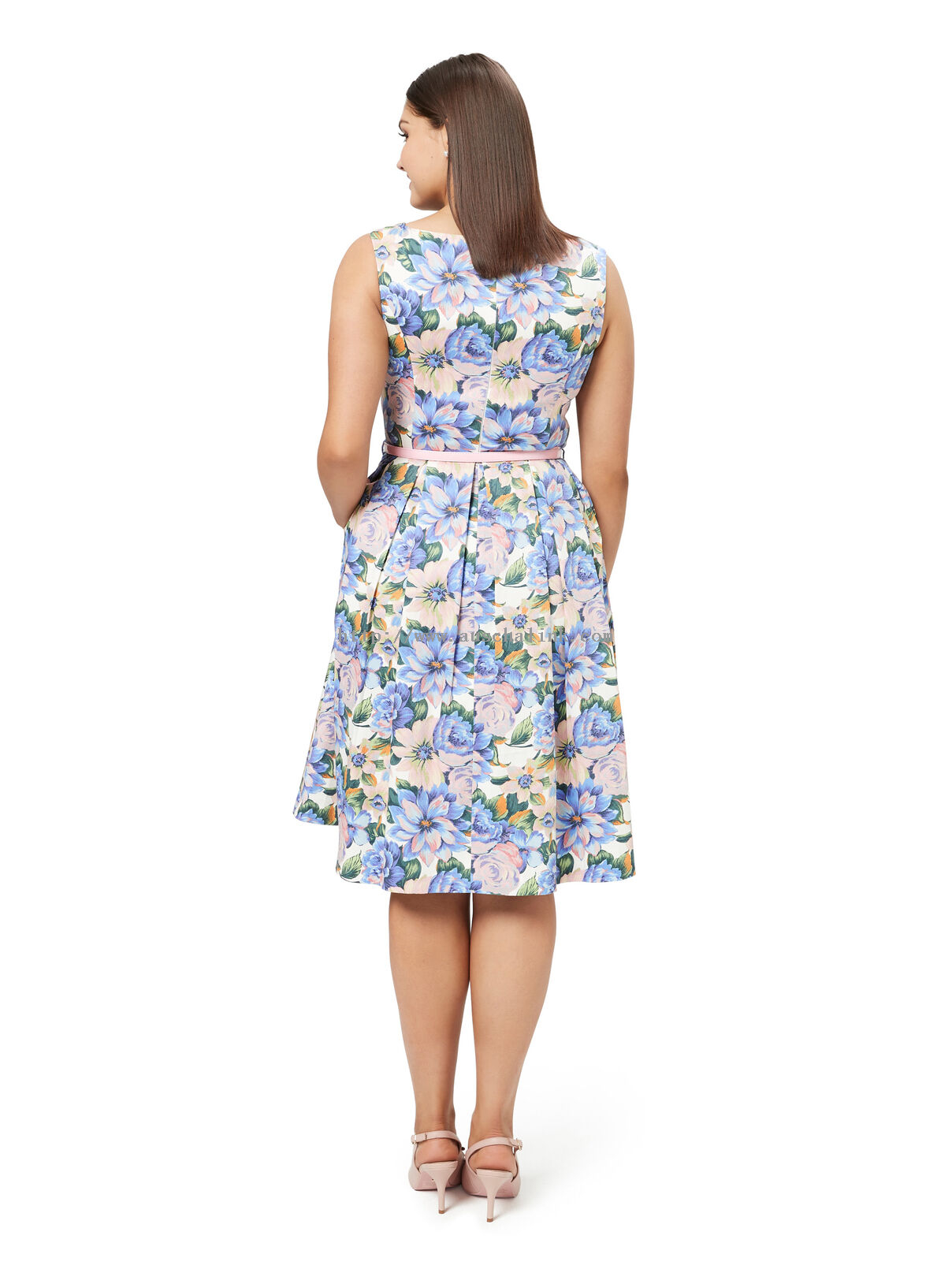 FANGIRL FLORAL PROM DRESS